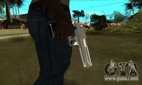 Metalic Deagle for GTA San Andreas