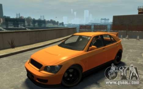 Karin Sultan Hatchback v2 for GTA 4