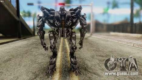 Starscream Skin from Transformers v2 for GTA San Andreas second screenshot