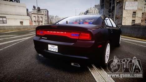 Dodge Charger SWAT Tactical Unit [ELS] rbl for GTA 4 back left view