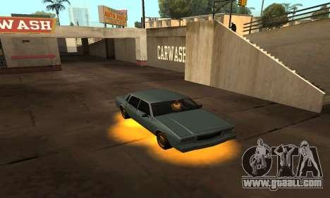Cleo Neon for GTA San Andreas third screenshot