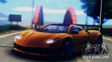 Pegassi Osiris from GTA 5 for GTA San Andreas