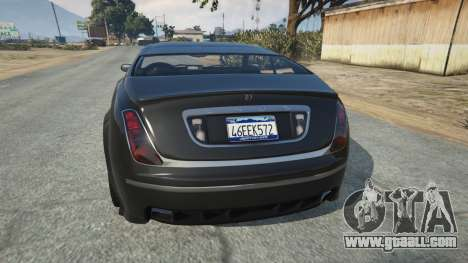 LC VC License plate for GTA 5