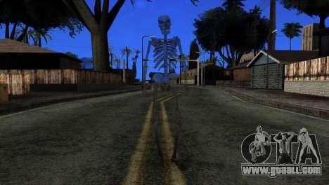 Skeleton Skin v3 for GTA San Andreas second screenshot