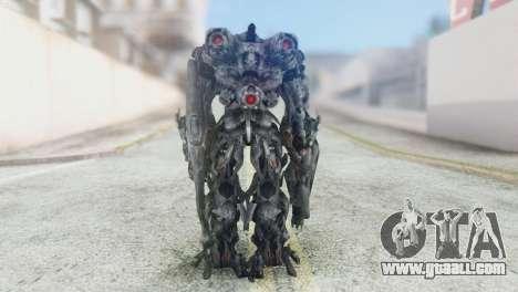 Shockwave Skin from Transformers v2 for GTA San Andreas third screenshot