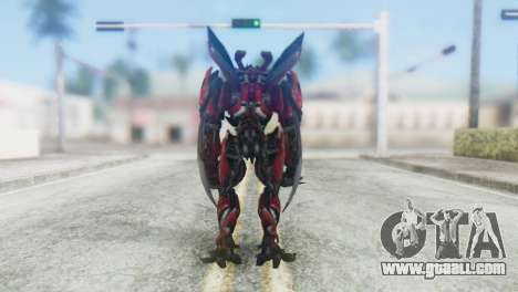 Dino Mirage Skin from Transformers for GTA San Andreas third screenshot