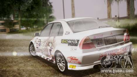 Mitsubishi Lancer Evolution VI 1999 PJ for GTA San Andreas side view