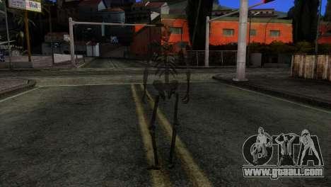 Skeleton Skin v3 for GTA San Andreas third screenshot