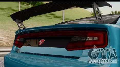 GTA 5 Bravado Buffalo S Sprunk IVF for GTA San Andreas back left view