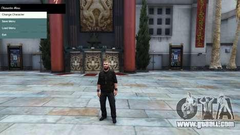 GTA 5 The character menu