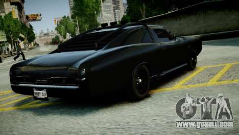 Imponte Dukes O Death from GTA 5 for GTA 4 left view