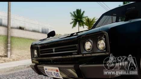GTA 5 Vulcar Warrener IVF for GTA San Andreas back left view