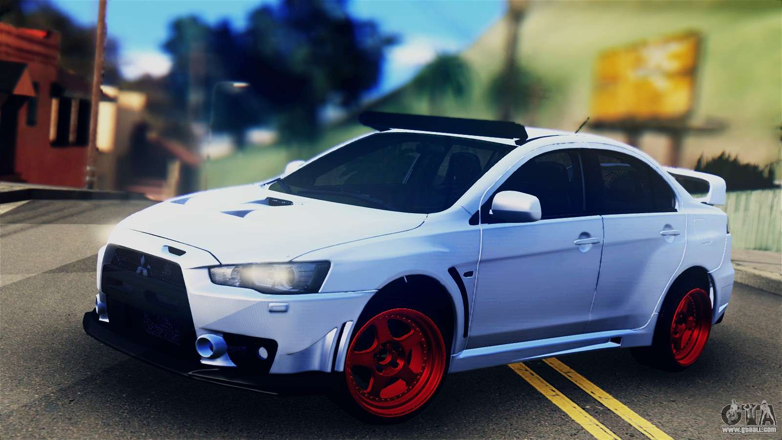 Awd Sports Cars >> Mitsubishi Lancer Evolution X for GTA San Andreas