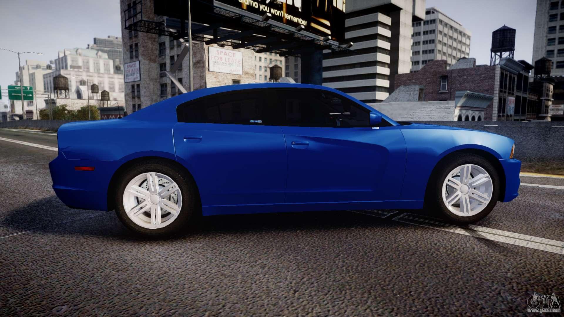 Dodge Charger SWAT Tactical Unit ELS Bl For GTA 4