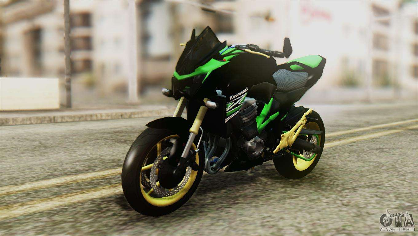 kawasaki z800 modified for gta san andreas. Black Bedroom Furniture Sets. Home Design Ideas