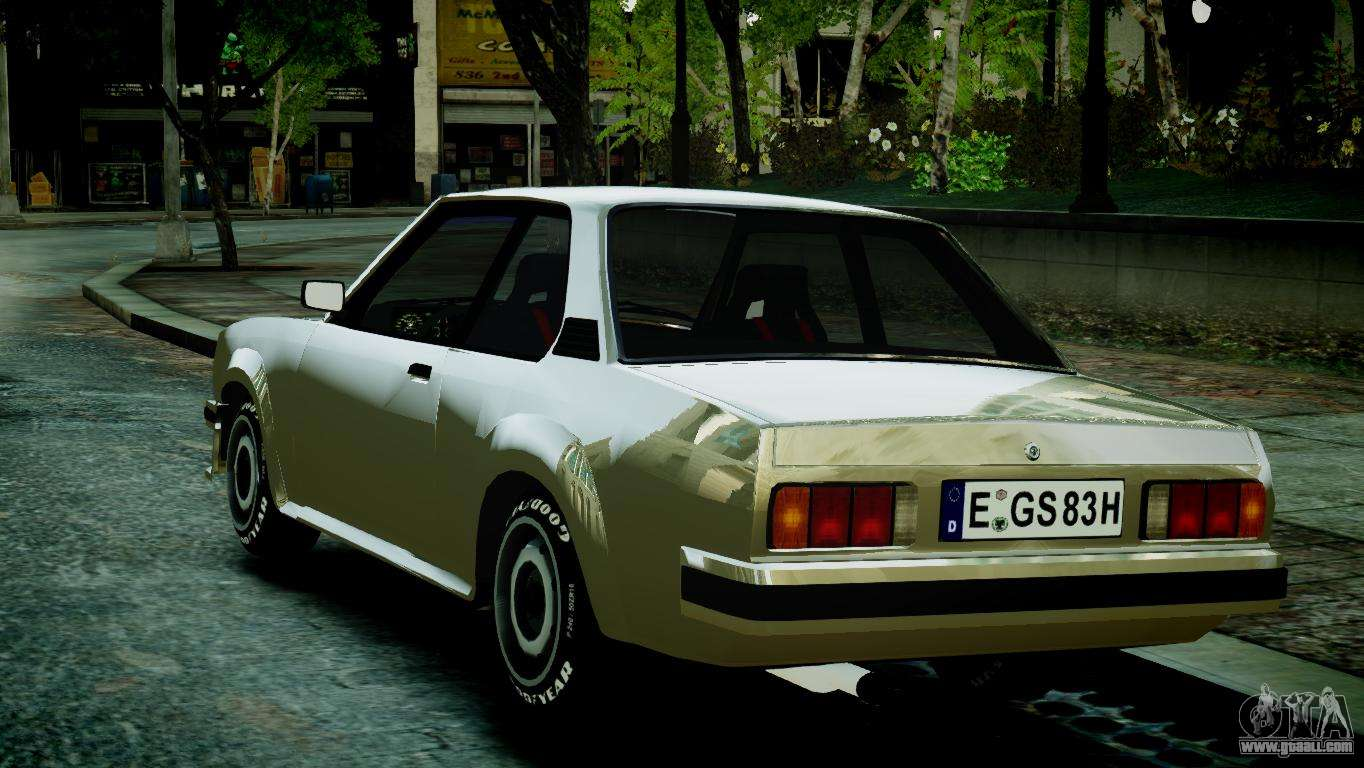 opel ascona b for gta 4. Black Bedroom Furniture Sets. Home Design Ideas