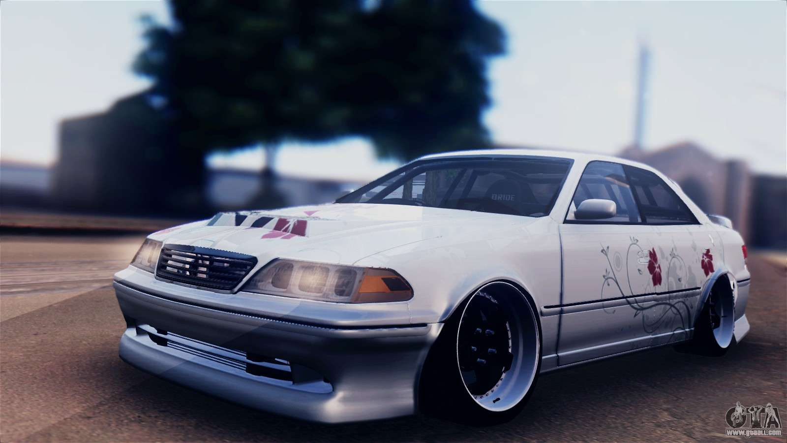 Toyota Mark X >> Toyota Mark 2 100 sedan for GTA San Andreas