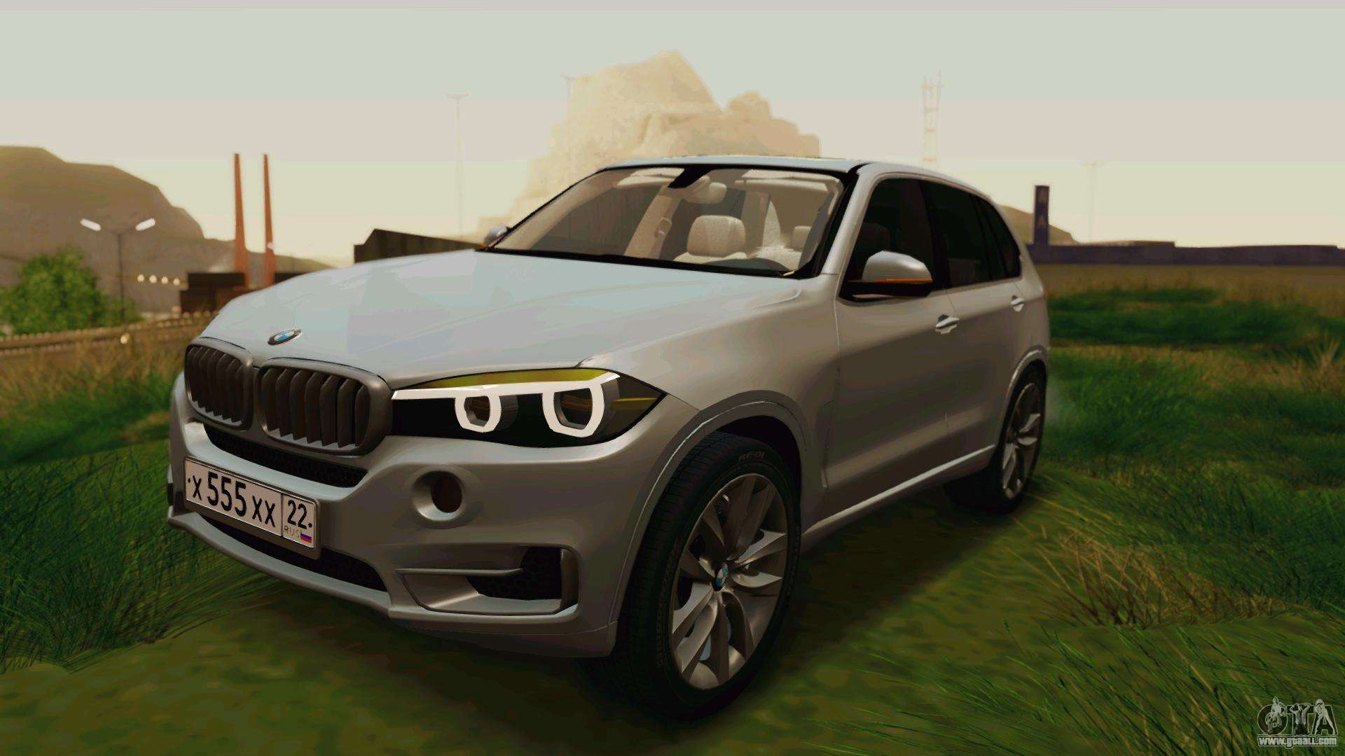 bmw x5 f15 2014 for gta san andreas. Black Bedroom Furniture Sets. Home Design Ideas