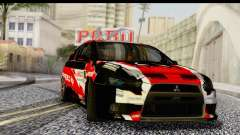 Mitsubishi Lancer Evo X Nunes for GTA San Andreas