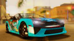 Lexus LFA 2010 OP Lilo for GTA San Andreas