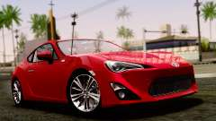 Toyota GT86 (ZN6) 2012 PJ for GTA San Andreas