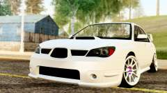 Subaru Impreza WRX STI Stance