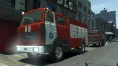 MAZ 533702 of EMERCOM of Russia