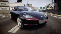 Mazda RX-8 2006 v3.2 Pirelli tires for GTA 4