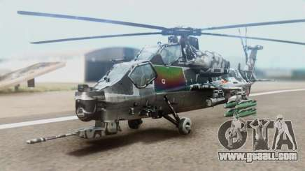Changhe WZ-10 for GTA San Andreas