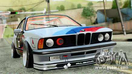 BMW M635CSi E24 1984 for GTA San Andreas