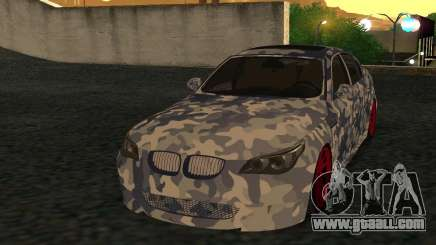 BMW M5 E60 RCS for GTA San Andreas