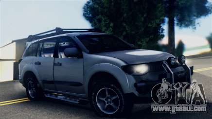 Mitsubishi Pajero 2014 Sport Dakar Offroad for GTA San Andreas