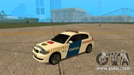 BMW 120i E87 Hungarian Police for GTA San Andreas