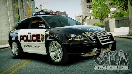 Subaru Impreza WRX STI Police for GTA 4