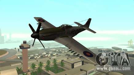 P-51D Mustang for GTA San Andreas
