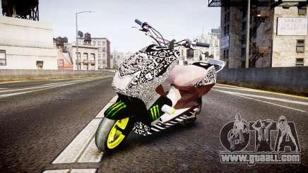 Yamaha Aerox Stunt for GTA 4