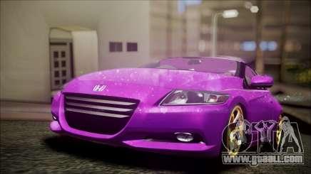 Honda CRZ Hybird Pink Cute for GTA San Andreas