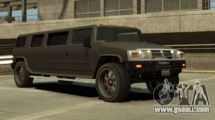 Mammoth Patriot Limousine for GTA 4