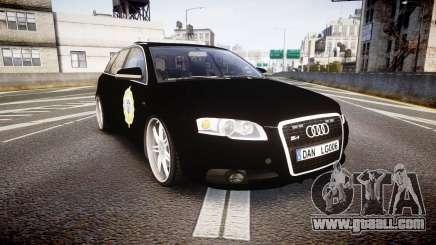 Audi S4 Avant Serbian Police [ELS] for GTA 4
