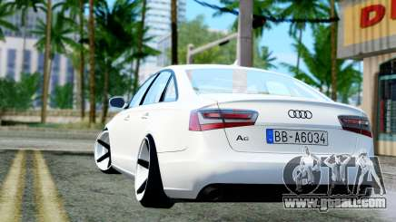 Audi A6 Stanced for GTA San Andreas