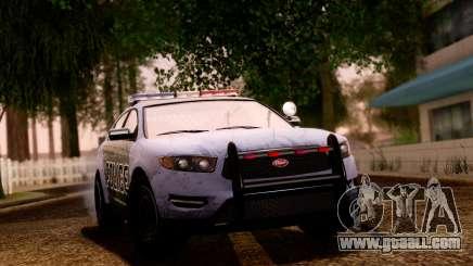GTA 5 Vapid Police Interceptor v2 SA Style for GTA San Andreas