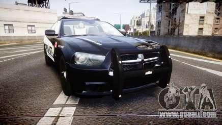 Dodge Charger Alderney Police for GTA 4