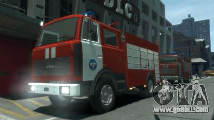 MAZ 533702 of EMERCOM of Russia for GTA 4