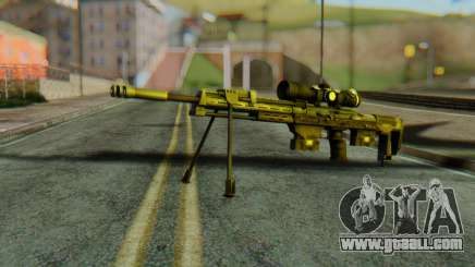 DSR50 Sniper Rifle for GTA San Andreas