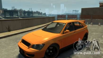 Karin Sultan Hatchback v2 for GTA 4