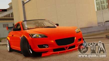 Mazda RX8 Drifter for GTA San Andreas