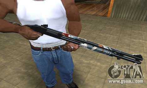Sportive Shotgun for GTA San Andreas