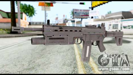 M4 from Resident Evil 6 for GTA San Andreas