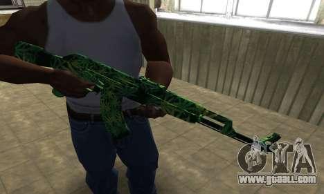 Ganja АК-47 for GTA San Andreas