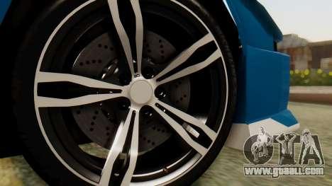 Infernus BMW Revolution for GTA San Andreas back left view